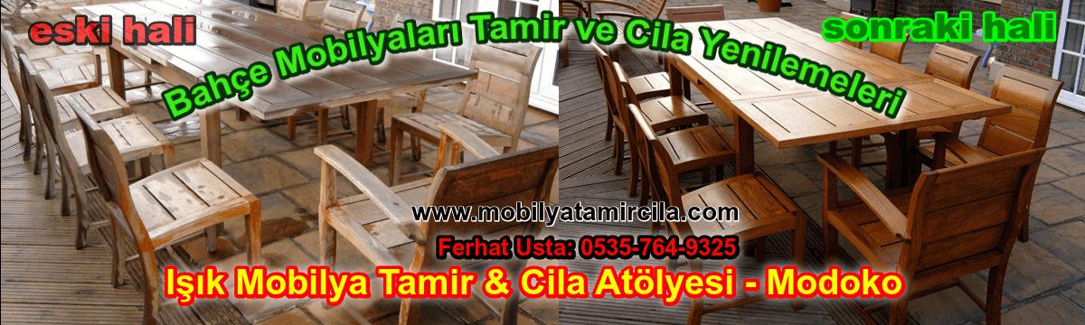 Bahçe Mobilya Tamir ve Cila - Bahçe Mobilyaları Masa, Sandalyeler Mobilya tamir ve cila