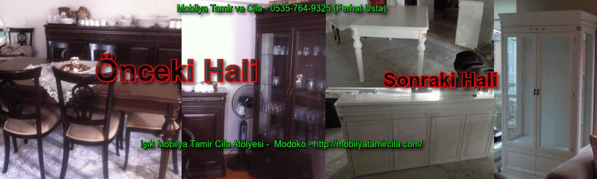 Mobilya Tamir ve Cila - Yemek Odası, Masa, Konsol, Vitrin, Sandalyeler